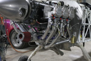 Lycoming manifold front